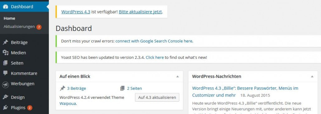WordPress Updates 5 Gruende - sichtbar-im-netz