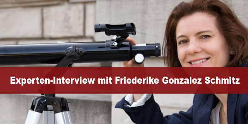 Experten-Interview mit Friederike Gonzalez Schmitz