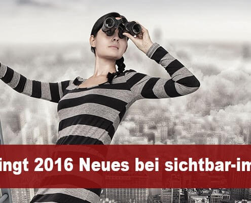 Neues in 2016 bei sichtbar-im-netz